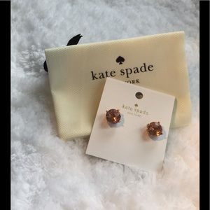 NWT Kate Spade New York Gumdrop Stud Earring💕